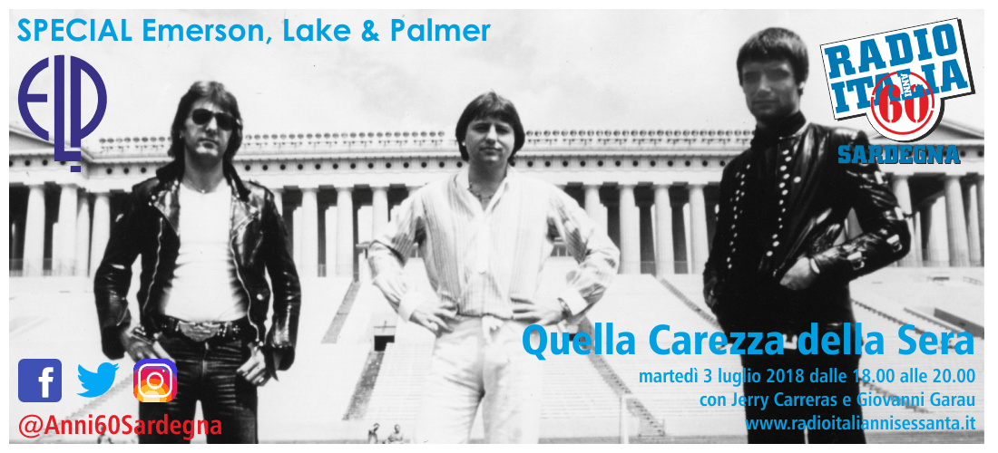 Special Emerson, Lake and Palmer - Quella Carezza della Sera [Sardegna]