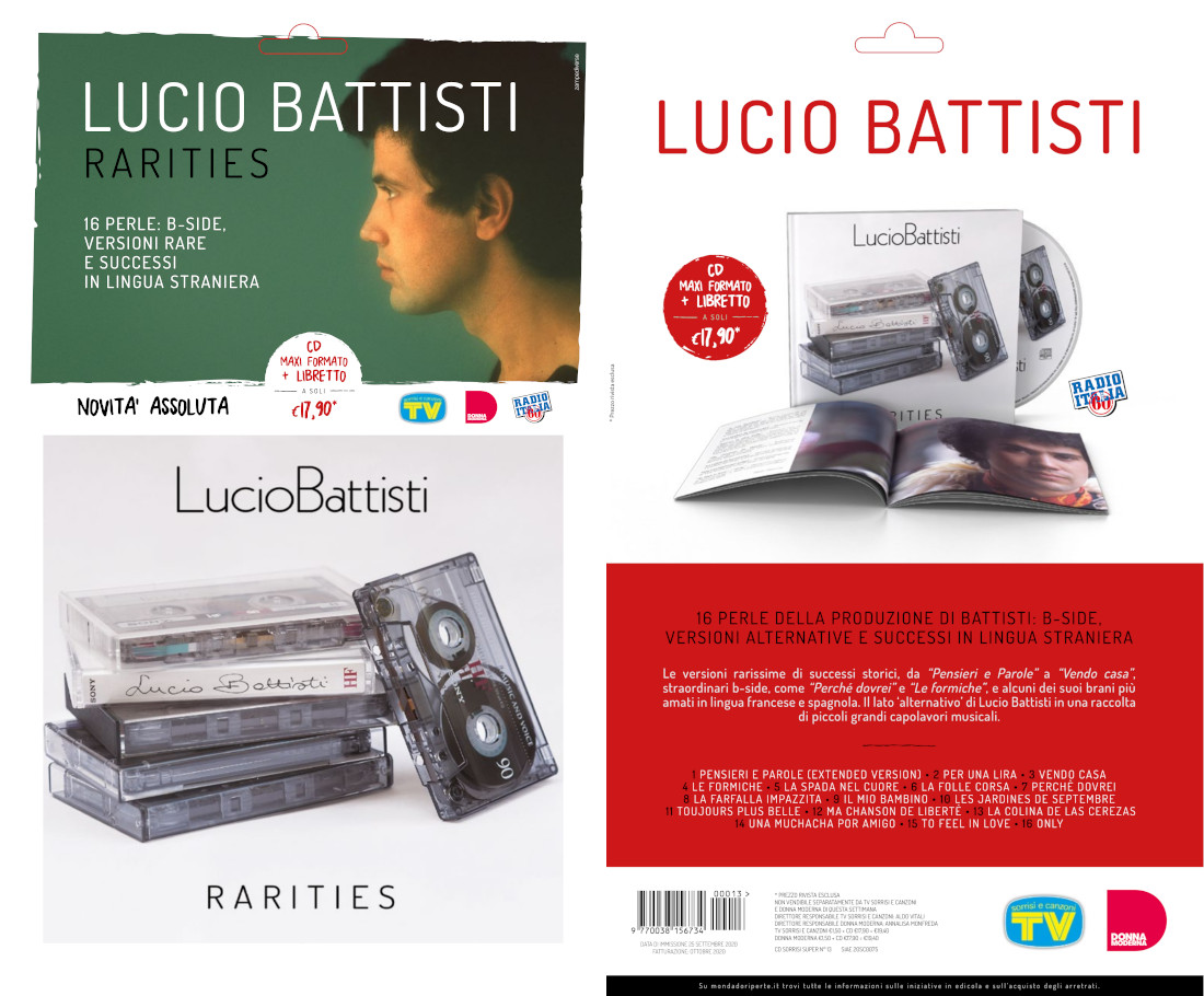 LUCIO BATTISTI - RARITIES